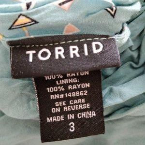 torrid Tops - 4/$25 Torrid Teal Arrow Design Tank Top 3